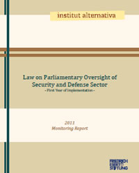 Law on Parliamentary Oversight of Security and Defense Sector – First Year of Implementation