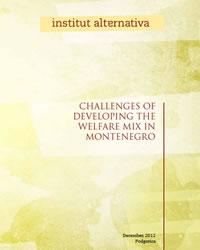 Challenges of developing the welfare mix in Montenegro