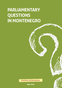 Parliamentary Questions in Montenegro