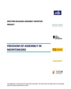 Freedom of Assembly in Montenegro