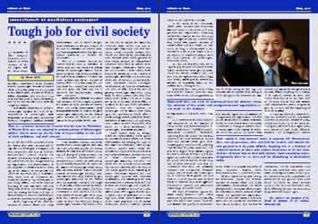 Tough job for civil society - Stevo Muk
