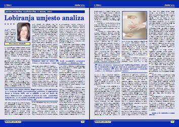 Lobiranje umjesto analize - Jovana Marović