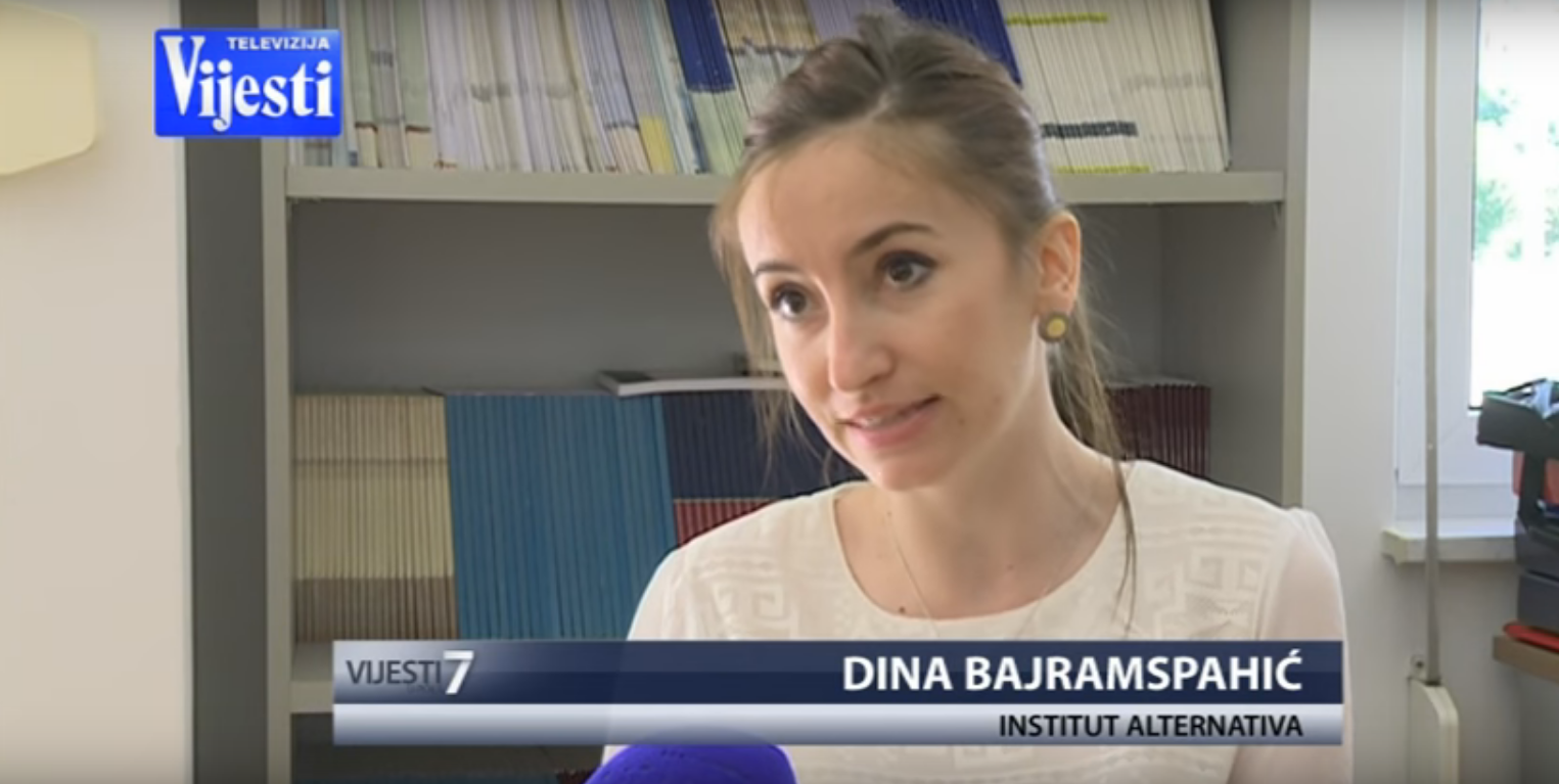 TV Vijesti Interview: Passivity of MPs in Montenegrin