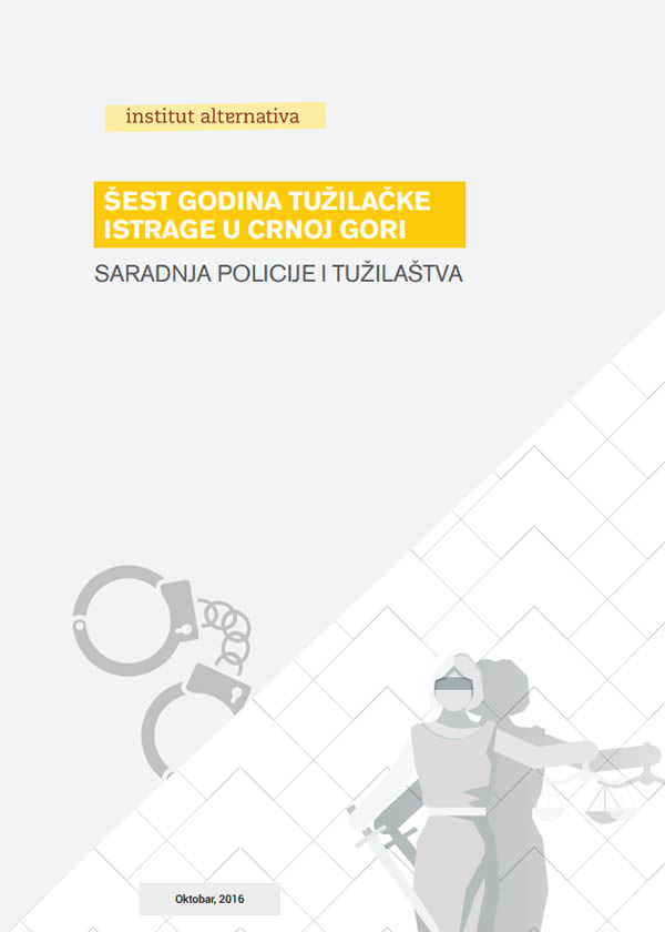 Šest godina tužilačke istrage u Crnoj Gori