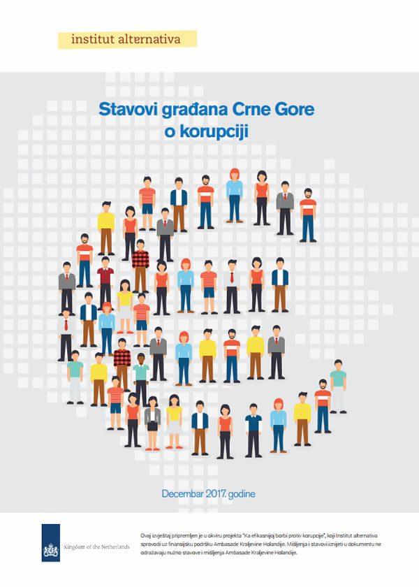 Stavovi građana o korupciji - istraživanje javnog mnjenja
