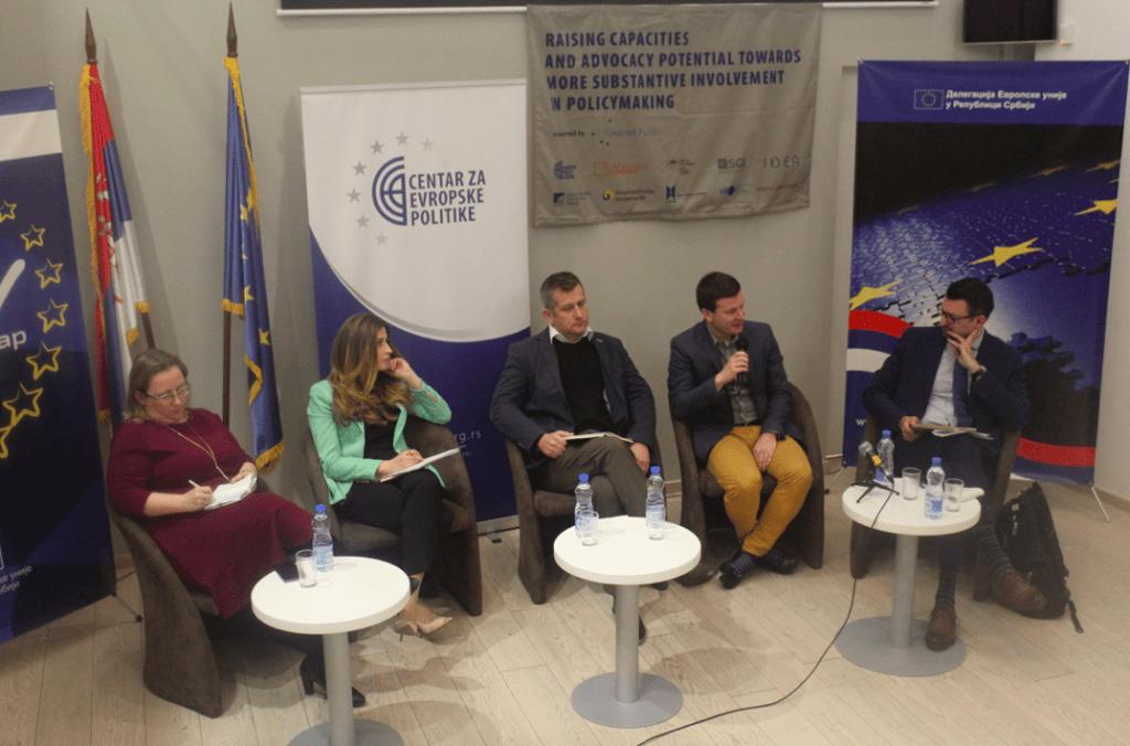 Konferencija o ulozi istraživačkih centara u procesu donošenja politika