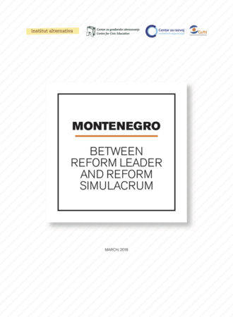 Montenegro - Reform Leader or Reform Simulacrum