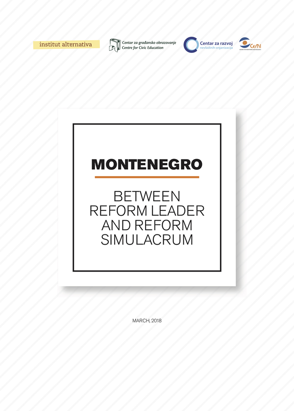 Montenegro - Reform Leader or Reform Simulacrum