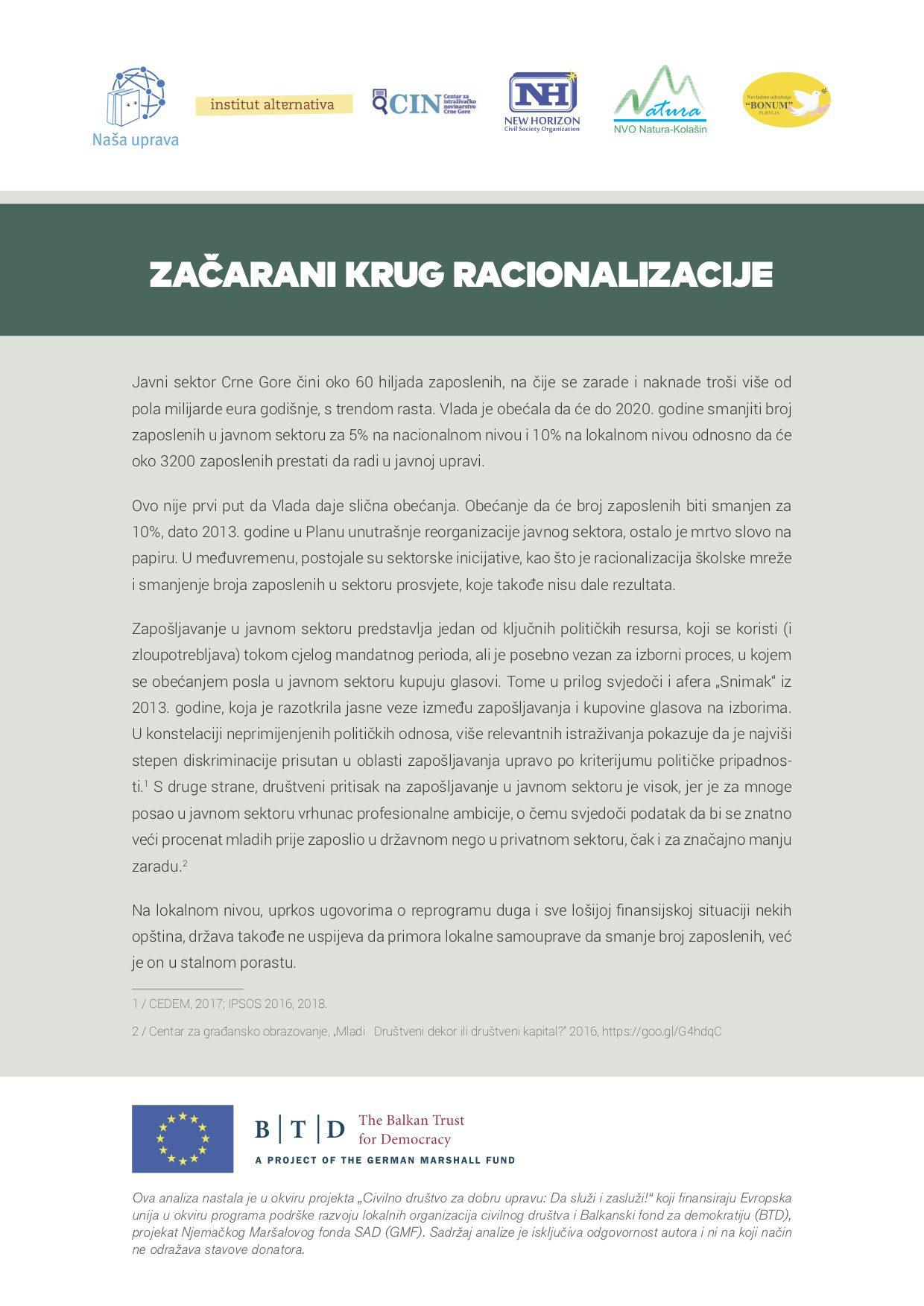 Povjerljive nabavke u Crnoj Gori: Daleko od kontrole