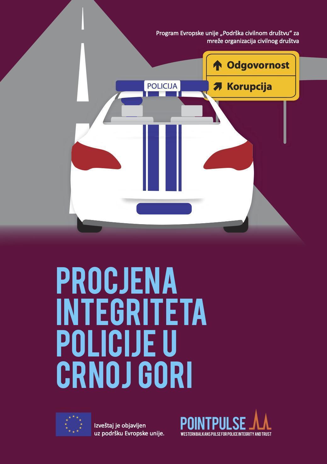 Procjena integriteta policije u Crnoj Gori