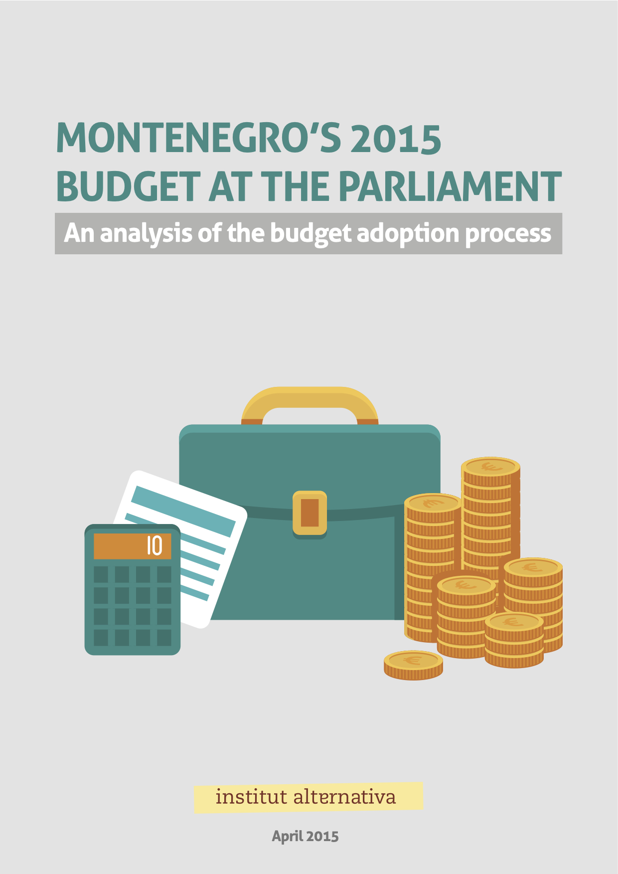 Montenegro's 2015 Budget at the Parliament
