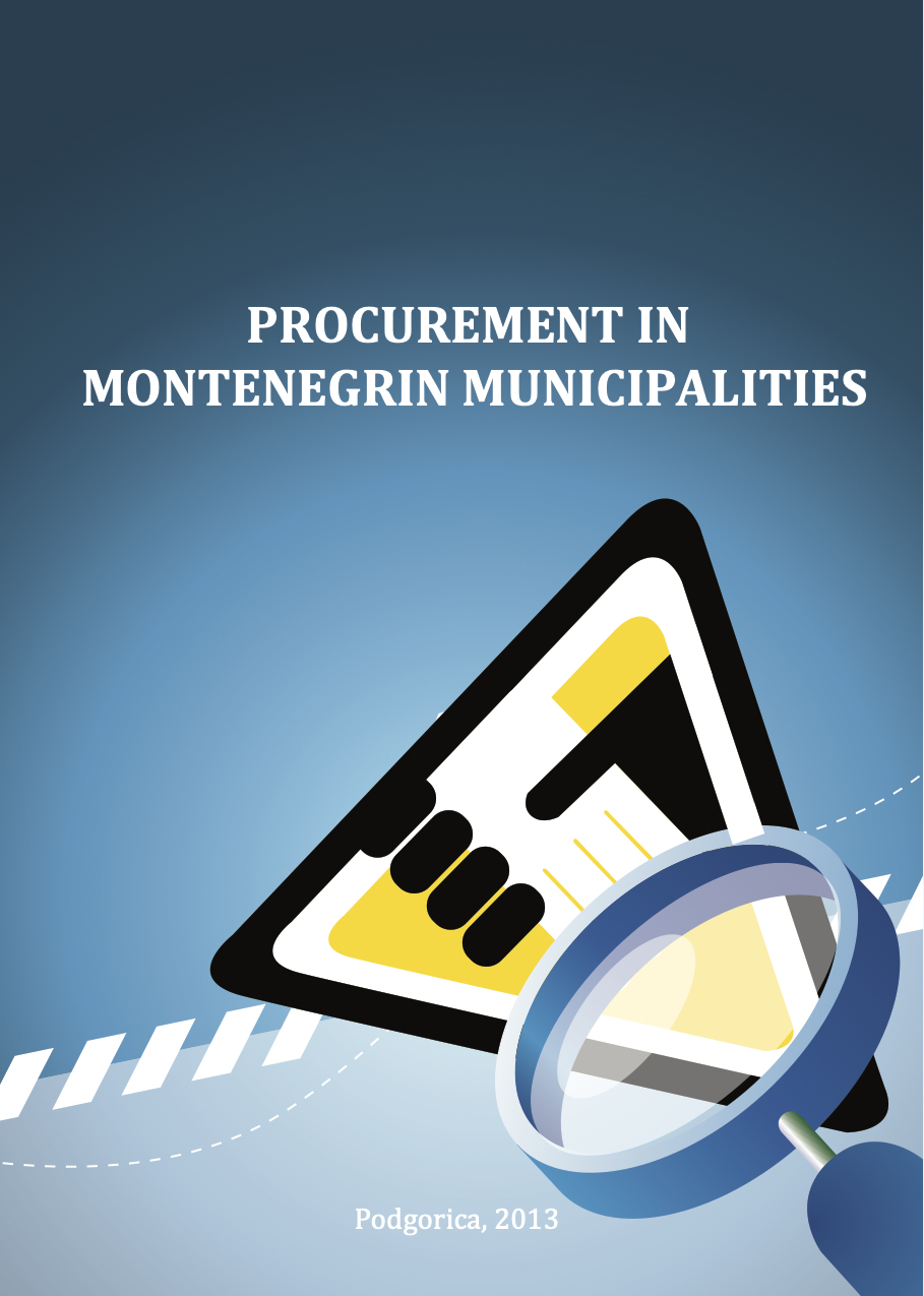 Procurement in Montenegrin municipalities